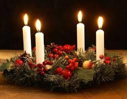 Couronnes de l'Avent samedi 5 et dimanche 6 décembre